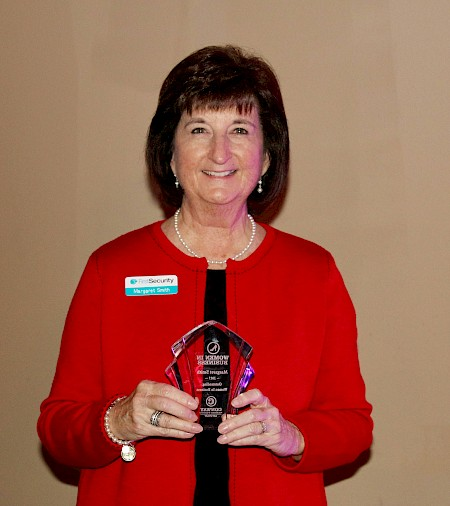 Margaret Smith Named 2017 Outstanding Woman in Business